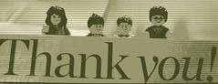 "Photo Series: Lego @work: ""Our family thanks you"""