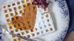 ❤ Chocolate Waffle