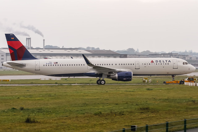 D-AYAZ - N312DN (MSN 7364 Airbus A321-211SL with Sharklets for Delta Air Lines @ Airbus factory Hamburg Finkenwerder (EDHI / XFW) / 19.10.2016