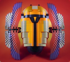 Journey Scarab with wings