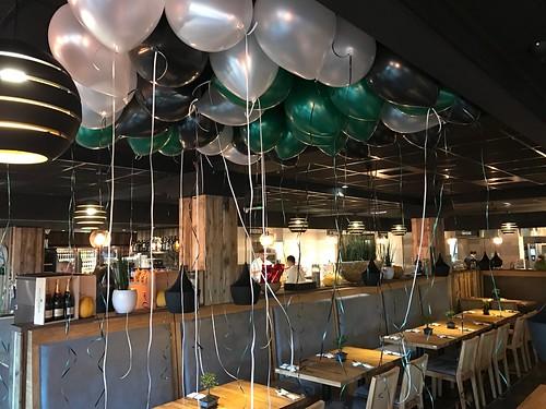 Heliumballonnen Opening Watertuin Hendrik Ido Ambacht
