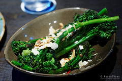 20161031-093-Broccollini with almonds at Bel and B…