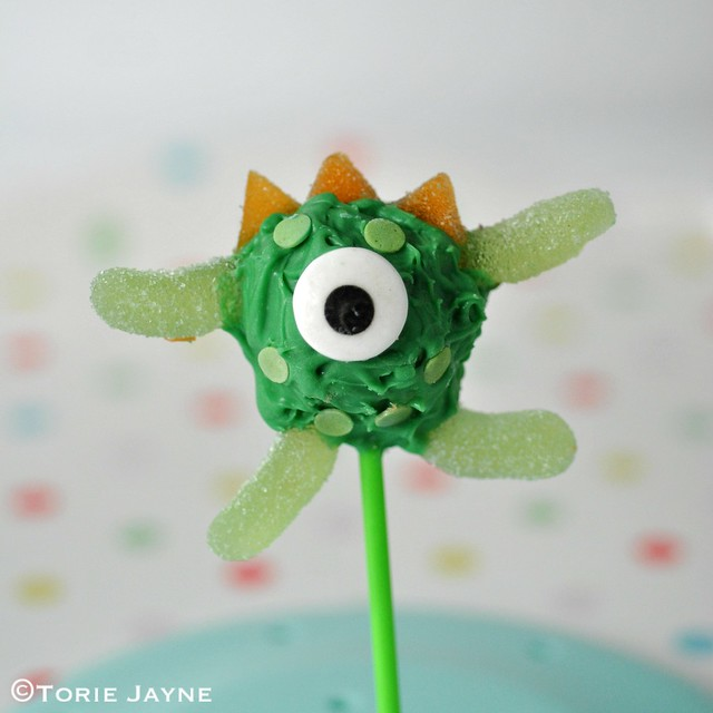 Green monster cakepop