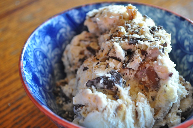 Salted Crack Ice Cream