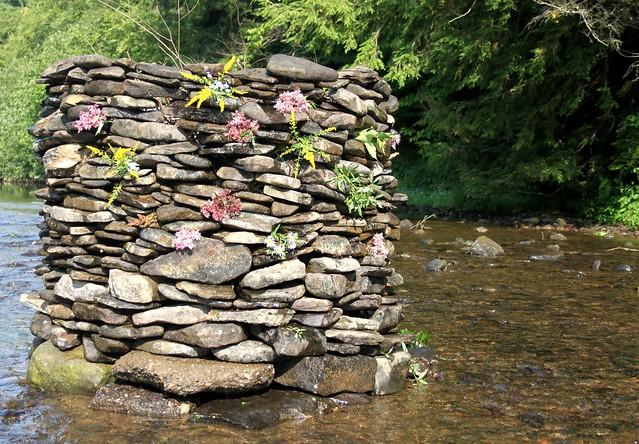 Summer's End Rock Sculpture