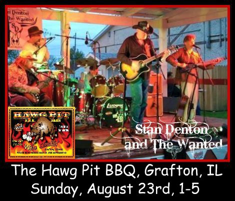 Stan Denton & The Wanted 8-23-15