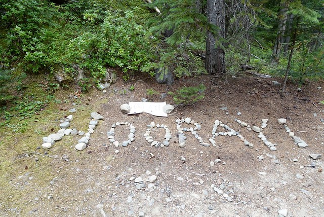 A Hooray on the PCT, Manning Park