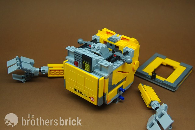 Exclusive Review Of Lego Ideas Wall E Set Designed By