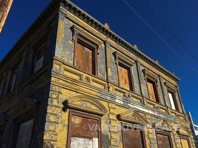 Dawson City historic bank