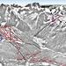 Mapa Val di Fassa - Belvedere