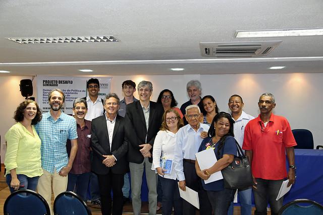 DESAFIO - First Post-Project Meeting / Primera Reunión Pos-Proyecto, Recife, 19 August 2015