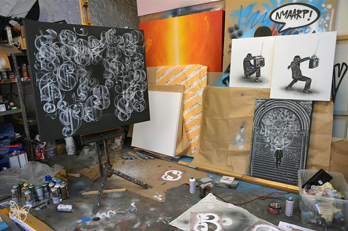 Nick Walker - Studio Visit 2015
