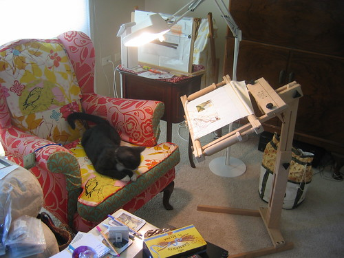 My sewing chair