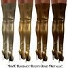 Bax - Regency Boots Gold Metallic