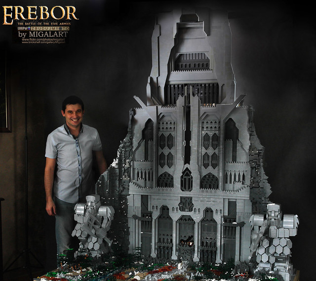 Erebor with the Builder :)