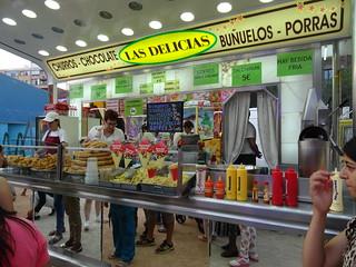 Fiestas en el barrio de las Delicias