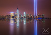 Tribute In Light from Jersey City by Michael Ver Sprill