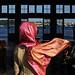 Pink scarf - Istanbul, Turkey by Maciej Dakowicz