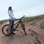En bici en Oljón