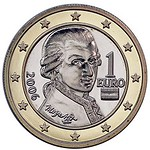 2015 Austria One Euro coin