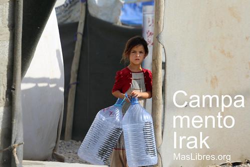 Foto oficial Campamento Irak
