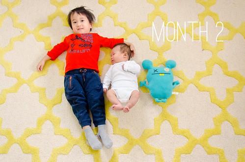 Oliver & Elliot - Month 2