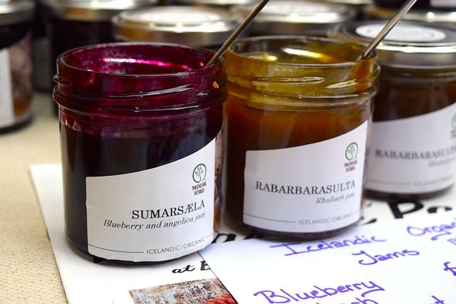 Icelandic Rhubarb Jam at The Icelandic Pantry, Borough Market | www.rachelphipps.com @rachelphipps