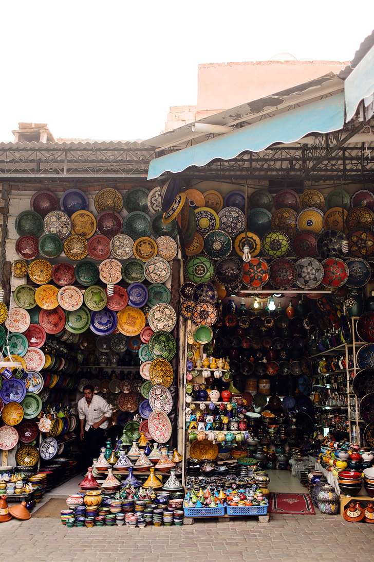 The Beautiful Colors of Marrakesh Morocco.