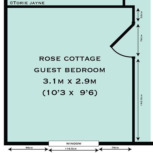 Guest Bedroom floor plan