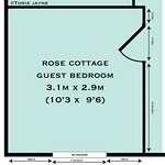 Guest Bedroom floor plan