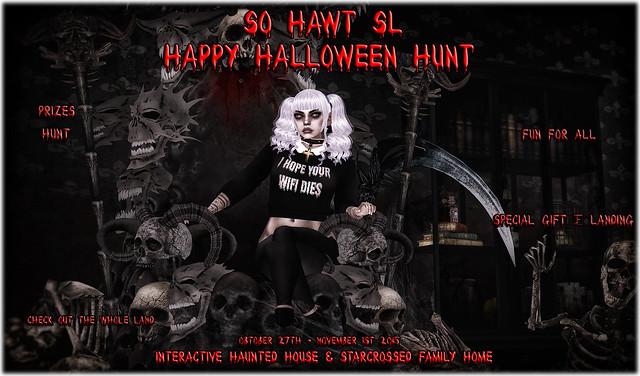 SoHawtSL - Starcrossed - Halloween Hunt