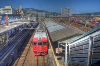 Nobeoka Station on OCT 26, 2015 (3)