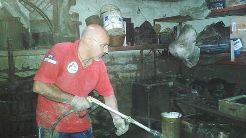 Benevento: l'intervento dei volontari Anpas