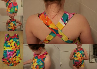 Azur Swimsuit by Titchy Threads.