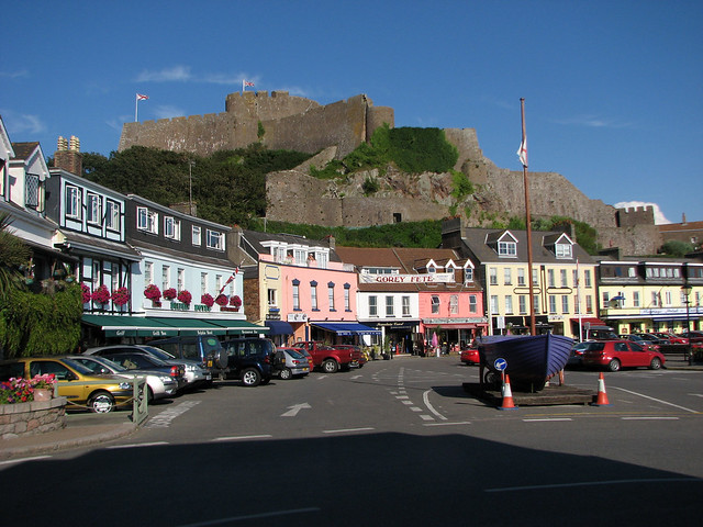 Mont Orgueil Castle and Gorey