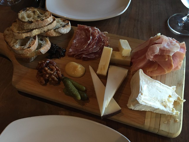 Cheese and charcuterie board - Carpe Diem Wine Bar