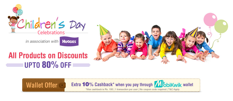 FirstCry childrens day offer