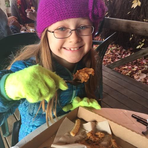 Fall at the Farm (Found Pumpkin Pie)