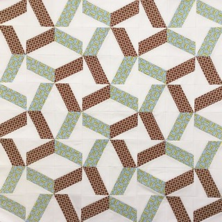 Whirlwind foundation paper piecing block