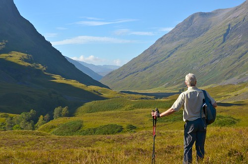 Luke savouring the views in Glencoe