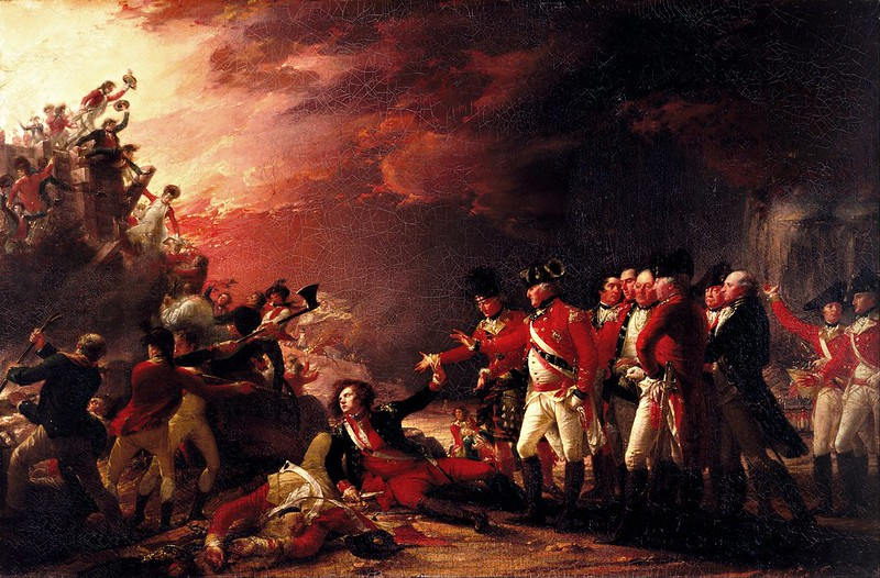 John Trumbull - The Sortie Made by the Garrison of Gilbraltar (1788)