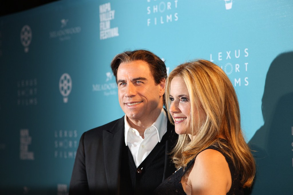 John Travolta and Kelly Preston, NVFF Celebrity Tributes