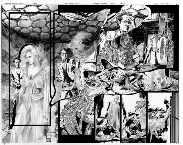 Sandman 2 pg 2 and 3