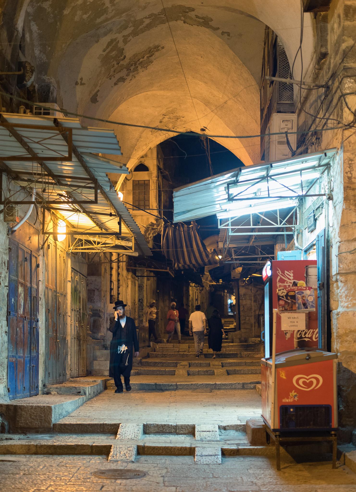 Old City Night Corridor