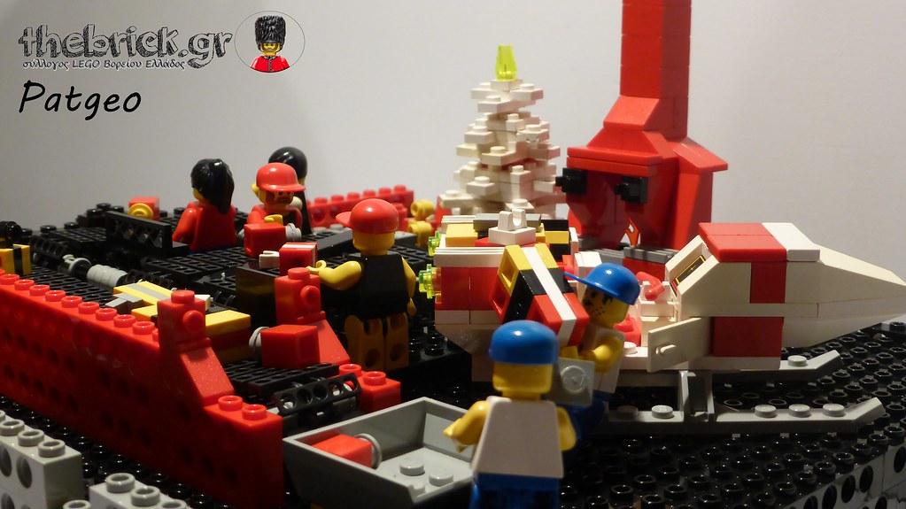 """[BuildtheBrick #2]: """"Santa's Workshop"""" 23186894826_530d0e0139_b"""