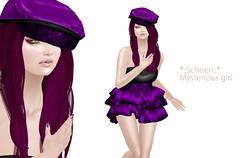 *--Schoen--* Mysterious girl