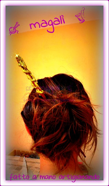 bacchette magiche o spilloni per capelli?