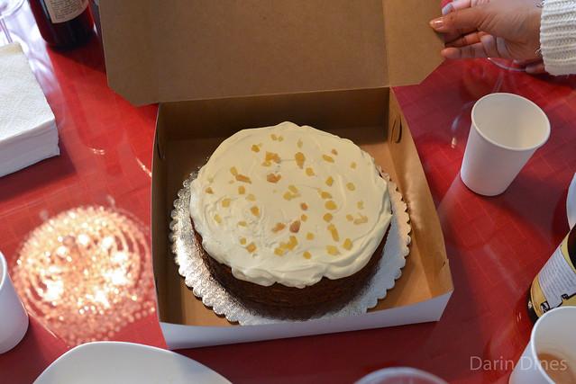 Lemon Ginger Molasses Cake