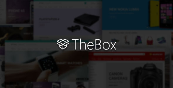 ThemeForest TheBox v1.6 - Ultimate E-Commerce Template