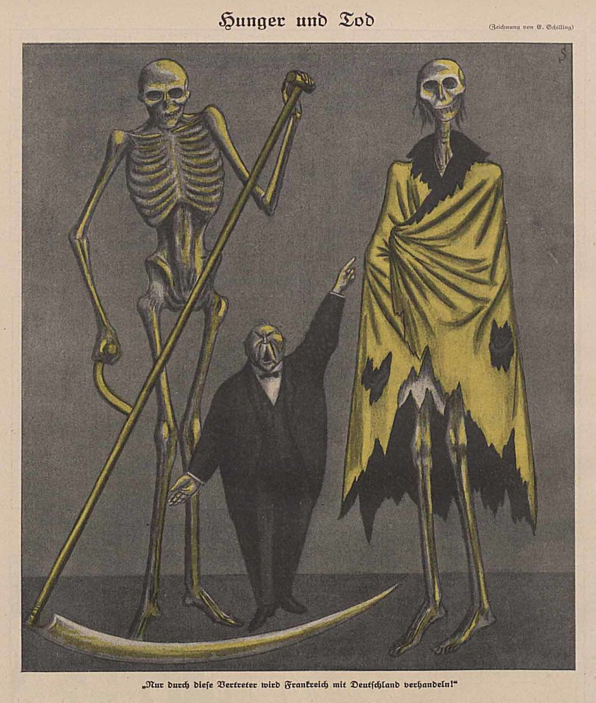 Erich Schilling - Hunger And Death, 1923